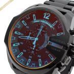 ディーゼル DIESEL 時計 メンズ腕時計 メガチーフ 偏光ガラス クロノグラフ 58mm ブラック DZ4318 [在庫品]