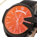 ディーゼル DIESEL メンズ腕時計 メガチーフ クロノグラフ 偏光ガラス Mega Chief 58mm ブラック DZ4323 [在庫品]