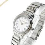フェンディ FENDI レディース腕時計 ラウンド クラシコ 26mm ホワイト×シルバー F251024000 [在庫品]