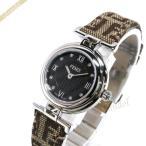 フェンディ FENDI レディース腕時計 MODA ダイヤモンド 23.5mm ブラック×ベージュ F271222DF [在庫品]