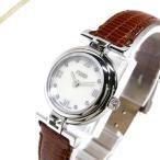 フェンディ FENDI レディース腕時計 MODA ダイヤモンド 23.5mm ホワイトパール×ブラウン F271242D [在庫品]