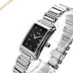 ショッピングフェンディ フェンディ FENDI レディース腕時計 クラシコ レクタングル ブラック×シルバー F701021000 [在庫品]