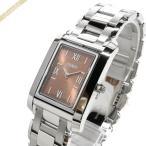 ショッピングフェンディ フェンディ FENDI レディース腕時計 ループ レクタングル オレンジ系×シルバー F765370N [在庫品]