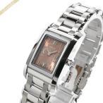 ショッピングフェンディ フェンディ FENDI レディース腕時計 ループ レクタングル ブラウン系×シルバー F775270J [在庫品]