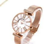 フォリフォリ Folli Follie レディース腕時計 ミニ ダイナスティ 26mm ホワイト×ピンクゴールド WF15B028BSM