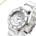 フォリフォリ Folli Follie レディース 腕時計 33mm ホワイト×シルバー WF4T0015BDW