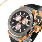 フェラガモ Ferragamo メンズ腕時計 F-80 クロノグラフ 44mm ブラック×ガンメタル F55020014 [在庫品]