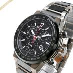 フェラガモ Ferragamo メンズ腕時計 F-80 クロノグラフ 44mm ブラック×ガンメタリック F55030014