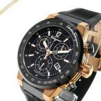 フェラガモ Ferragamo メンズ 腕時計 F-80 クロノグラフ 44m ブラック×ゴールド F55LCQ75909S113 [在庫品]