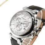 フェラガモ Ferragamo メンズ腕時計 IDILLIO クロノグラフ 42mm シルバー×ダークブラウン F77LCQ9902SB25-H [在庫品]