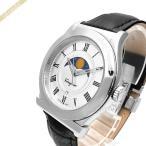 フェラガモ Ferragamo メンズ腕時計 1898 42mm シルバー×ブラック FBG090016 [在庫品]