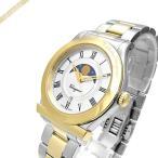 フェラガモ Ferragamo メンズ腕時計 1898 ムーンフェイズ 40mm シルバー×ゴールド FBG100017 [在庫品]