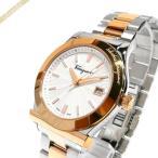 フェラガモ Ferragamo メンズ腕時計 1898 38mm シルバー×ゴールド FF3070014 [在庫品]