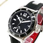 フェラガモ Ferragamo メンズ 腕時計 1898 デイト 42mm ブラック×シルバー FF3100014 [在庫品]