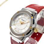 フェラガモ Ferragamo レディース腕時計 F-80 33mm シルバー×レッド FIG140016 [在庫品]
