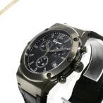 フェラガモ Ferragamo メンズ腕時計 F-80 クロノグラフ 44m オールブラック FIJ030017 [在庫品]
