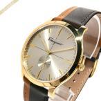 フェラガモ Ferragamo メンズ腕時計 スリム 40mm ゴールド×ブラウン SFDE00318 [在庫品]