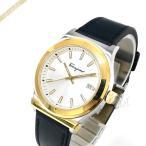 フェラガモ Ferragamo メンズ腕時計 38.5mm ホワイト×ゴールド×ブラック SFDG00118 [在庫品]