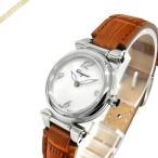 フェラガモ Ferragamo レディース腕時計 IDILLIO 25mm パールホワイト×ブラウン×シルバー SFEY00119 [在庫品]