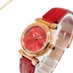 フェラガモ Ferragamo レディース腕時計 IDILLIO 25mm レッド×ローズゴールド SFEY00319 [在庫品]