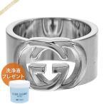 最大1000円クーポン グッチ GUCCI メンズ レディース 指輪 インターロッキングG ワイド シルバー 190482 J8400 8106