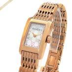 グッチ GUCCI レディース腕時計 Gメトロ レクタングル ホワイトシェル×ピンクゴールド YA086517