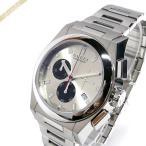 グッチ GUCCI メンズ メンズ腕時計 パンテオン クロノグラフ 42mm シルバー×ブラック YA115236