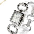 グッチ GUCCI レディース 腕時計 トルナヴォーニ バングルウォッチ ホワイトシェル×シルバー YA120517 [在庫品]