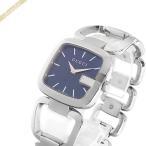 グッチ GUCCI レディース腕時計 Gグッチ ブルー×シルバー YA125405 [在庫品]