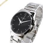 グッチ GUCCI メンズ腕時計 Gタイムレス 40mm ブラック×シルバー YA1264051 [在庫品]