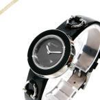 グッチ GUCCI レディース 腕時計 Uプレイ 28mm ブラック YA129513 [在庫品]