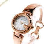 グッチ GUCCI レディース腕時計 グッチシマ ホワイトシェル×ピンクゴールド YA134513 [在庫品]