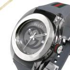 グッチ GUCCI メンズ腕時計 SYNC グッチシンク 46mm グレー×シルバー YA137109A [在庫品]