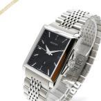 グッチ GUCCI メンズ 腕時計 Gタイムレス レクタングル ブラック×シルバー YA138401 [在庫品]