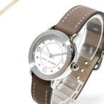 マークバイマークジェイコブス MARC BY MARC JACOBS レディース腕時計 ライリー 28mm ホワイト×モカブラウン MJ1472 [在庫品]