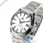 ショッピングオメガ オメガ OMEGA メンズ腕時計 シーマスター アクアテラ コーアクシャル 自動巻き 35mm ホワイト×シルバー 231.10.39.21.54.001 [在庫品]