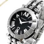 《クーポン配布中》ティファニー Tiffany レディース 腕時計 アトラス 36mm ブラック×シルバー Z1301.11.11A10A00A
