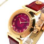 ヴェルサーチ VERSACE レディース 腕時計 ヴァニティ 35mm パープル系×レッド P5Q80D800S800 [在庫品]