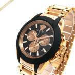 ヴェルサーチ VERSACE メンズ腕時計 キャラクタークロノ 42mm ブラック×ローズゴールド VEM800318 [在庫品]