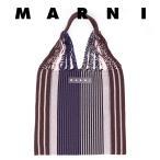 マルニ バッグ ハンモックバッグ MARNI マルニフラワーカフェ 00B90 ウルトラマリン ブルー トート マルニマーケット ショッピングバッグ