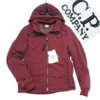 60%OFF15aw CPカンパニー NYCRA GOGGLE JACKET size48 エンジ