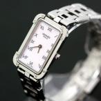 ショッピングused 【USED】エルメス クロアジュール CR2.210 ステンレススチール ピンクシェル×シルバー 腕時計 レディース/約15cm 電池式/2針