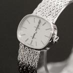 ショッピングused 【USED】オメガ K18WG デビル 腕時計 シルバー×ホワイトゴールド 銀×白金 レディース/約17.5cm 手巻き/2針 無垢