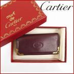 カルティエ マストライン Cartier キーケース 4連キーケース 中古 X11121