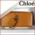 クロエ 財布 Chloe 長財布 ラウンドファスナー財布 中古 X11746