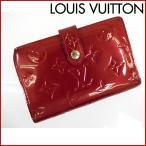 ルイヴィトン 財布 M91980 ポルトフォイユ・ヴィエノワ LOUIS VUITTON 二つ折り財布 ヴェルニ がま口財布 中古 X12586