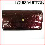 ルイヴィトン 財布 ポルトフォイユサラ LOUIS VUITTON 長財布 ヴェルニ 中古 X13352