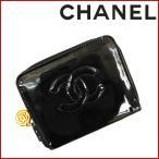 シャネル 財布 4番台 CHANEL コインケース ココマーク 中古 X13976
