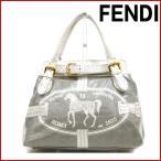 フェンディ バッグ セレリア FENDI ハンドバッグ 中古 X14092