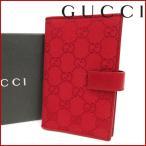 グッチ 031 2184 1023 5 GUCCI 手帳カバー GGキャンバス パスポートケース 中古 X14123